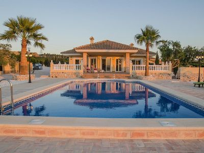 Photo for The Lake House superb luxury 5 star Premier Villa in stunning lake side location