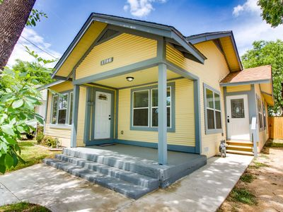 Photo for NEW LISTING! Newly remodeled house w/entertainment & fenced yard - dogs welcome!