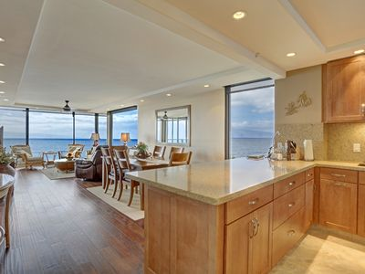 Open concept newly renovated condo has great views from all angles!