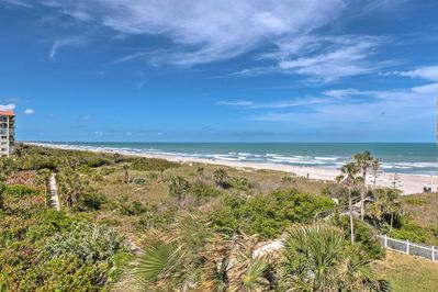 Enjoy access to a private gated beach area at your Cocoa Beach home.