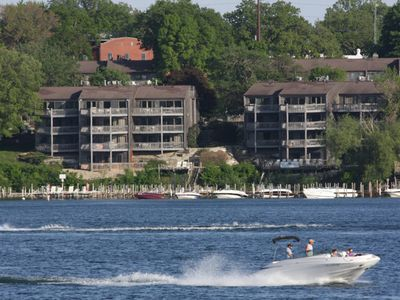 Photo for Beautiful Okoboji Condo ~ Lake Access And Steps From Arnold's Park