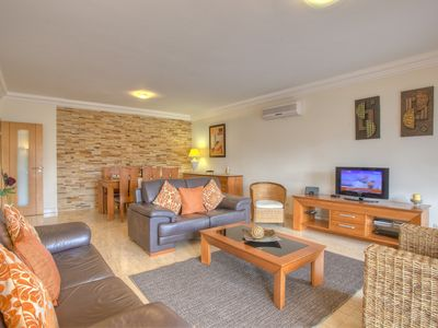 Photo for Luxury Penthouse Apartment, Roof Terrace, Indoor Pool, WiFi, l, UK TV - 5058/AL