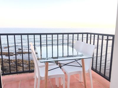 Photo for Balcon del Mar Apartment First line of the beach