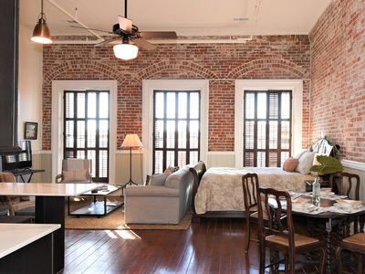 Photo for Historic Downtown Studio Loft on The Strand above Hendley Market!