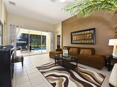 Photo for SPACIOUS 5BDR HM w/Pool in Desired Windsor Hills Resort Community, 2 miles to Disney