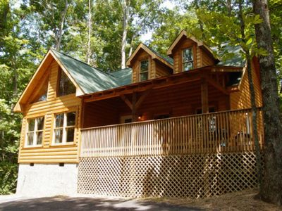 Photo for Whispering Oaks - Private Pigeon Forge Getaway...Close to Tanger Outlet Shopping