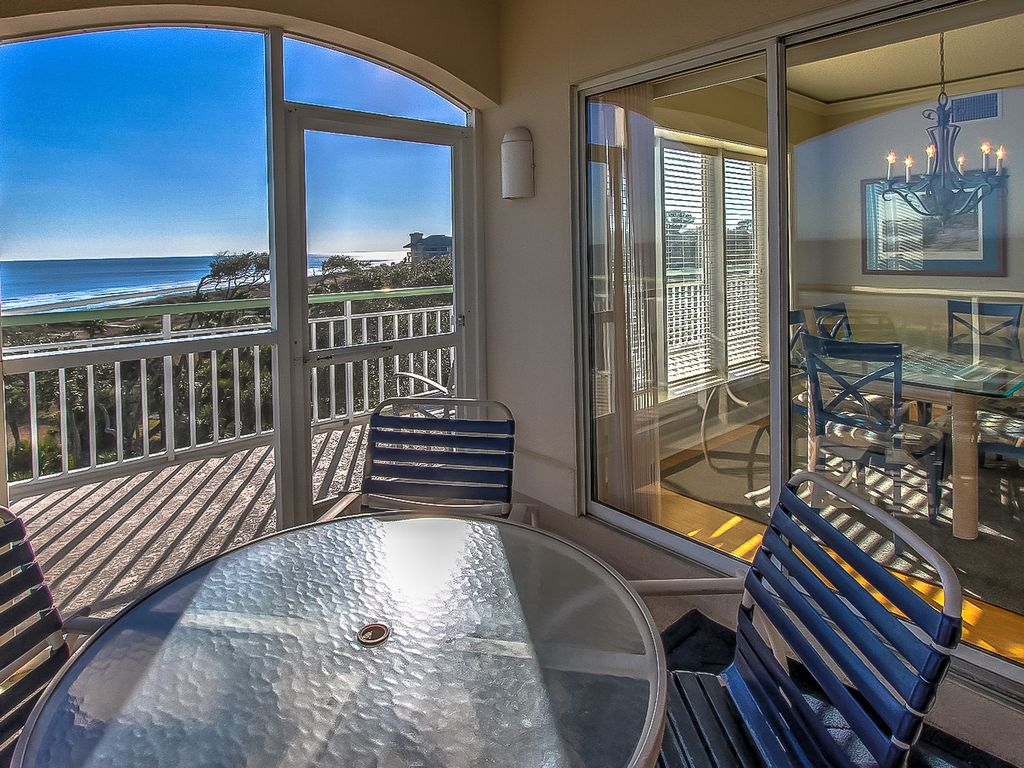 508 Windsor Place Oceanfront 5th Floor Penthouse Forest Beach Hilton Head South Carolina