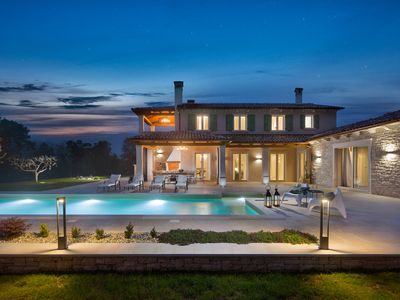 Photo for Stone Villa Ovi, in Istria, with a Pool