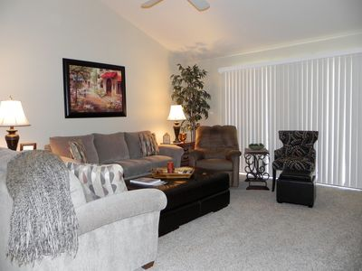 Photo for Beautiful, remodeled Home Away From Home with garage and furnished, tiled, patio
