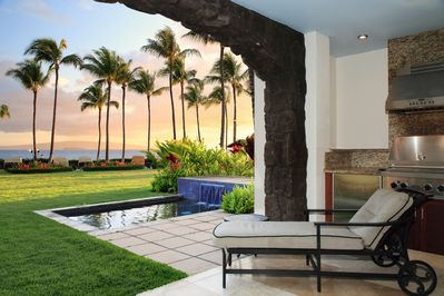 Paradise is calling from this incredible ocean front Villa!