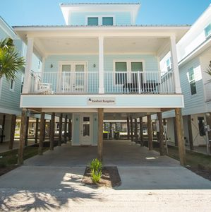 Photo for Barefoot Bungalow|East Point Cottages|13 cottages|Gulf Shores|Across the street from the beach |Pool