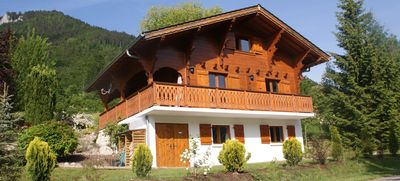 Photo for Luxury Chalet - Fireplace - WiFi - Sunny Terrace - Portes du Soleil