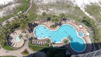 Photo for 17th Floor Spectacular views - Newly Renovated in July 2019! Gulf Front Balcony