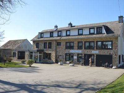 Formerly a hotel, now a large holiday house! Very close to the High Fens reserve