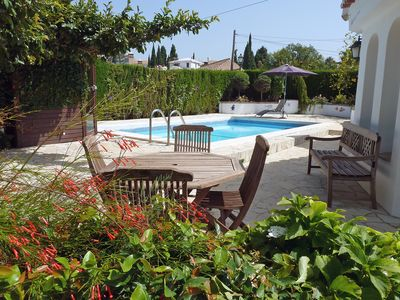 Photo for This 3-bedroom villa for up to 6 guests is located in Marbella and has a private swimming pool and W