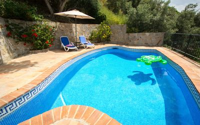 Photo for A Stunning Renovated Rural Apartment With Private Pool and a Wonderful Sea View