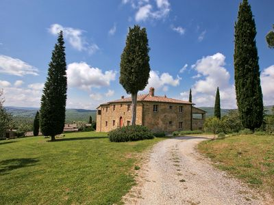 Photo for Majestic Farmhouse in Lucignano with Swimming Pool