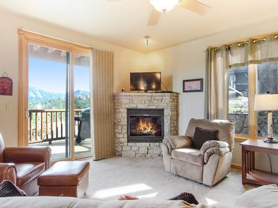 Photo for Ogalalla Peak 22B - 2 Br condo with Marys Lake and mountain views!