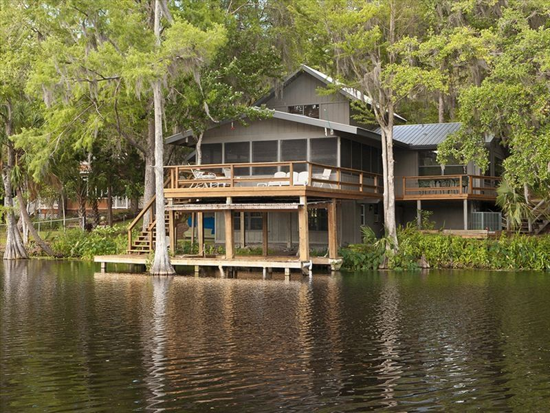 charming withlachoochee river home hidden among nature