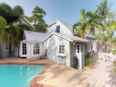 Photo for Family-friendly home w/ private pool, furnished patio, and parking - Dogs OK!
