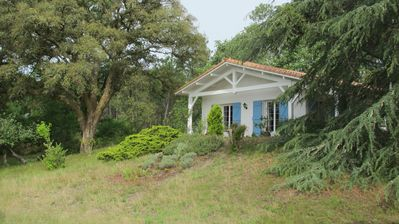 Photo for House on the edge barnyard forest nearby ocean