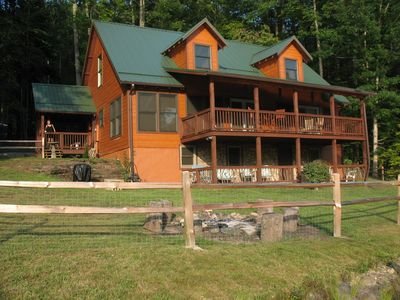 Photo for Luxury Lakeview Mountain Cabin Brevard, Asheville, Hendersonville Area