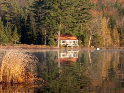 Photo for Secluded Cabin on 215 Acres With Its Own Pond