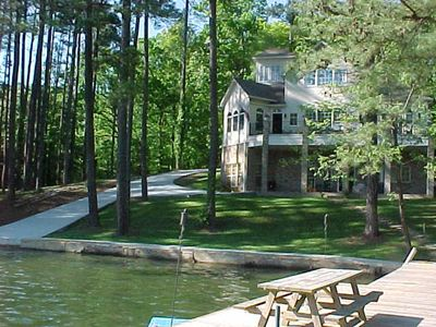Photo for FOOTHILLS OF THE SMOKIES, WATERFRONT HOME  with kayaks, paddle boats