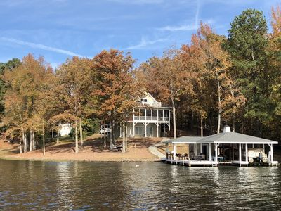 Photo for IN A COVE W/MAIN LAKE VIEW, TOWELS/LINENS, NEW DECOR, LOTS OF EXTRAS-A MUST SEE!