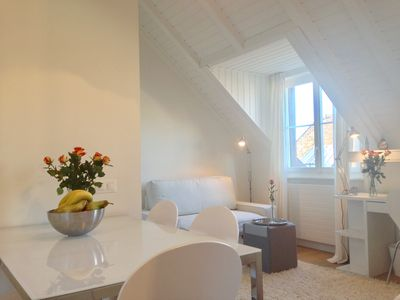 Photo for Roof Top Apartment in the Heart of Vieux Carouge, Geneva's fanciest neighborhood