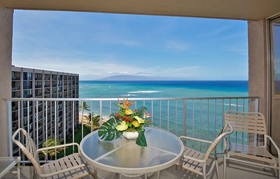 We love Maui and the beautiful panoramic views from this amazing condo!