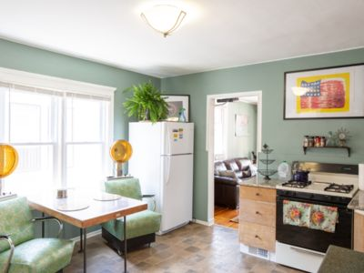 Beautifully designed warm and cozy Detroit artist hideaway!