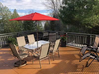 Deck off Kitchen; NEWLY RENOVATED