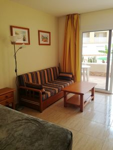 Photo for Homerez last minute deal - Amazing studio with pool access