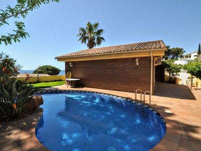 Photo for Villa Gines -with sea views, private pool