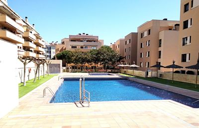 Photo for Apartment LloretHoliday Sol, wifi, air conditioning, parking. Garden, swimming pool, and children's playground are common