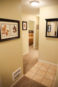 Entry way and hallway area.