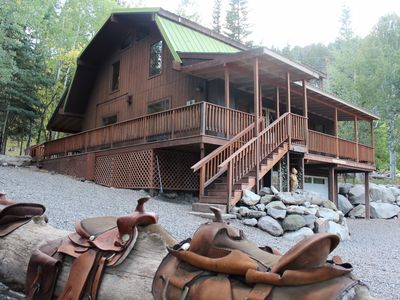 Photo for Large home in serene country setting just outside of Ouray!