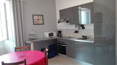 Photo for Furnished apartment family 5 people in house cévenole