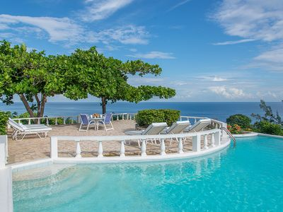 Photo for Cliffside Cottage - Ideal for Couples and Families, Beautiful Pool and Beach