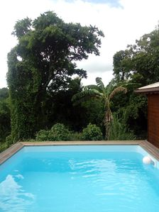 Photo for Nice bungalow with pool access