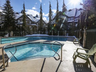 Photo for Steps from the Action of Whistler Village at Northstar at Stoney Creek - Village North 2 BR Family Unit w/Pool+Hot Tub (Unit 107)