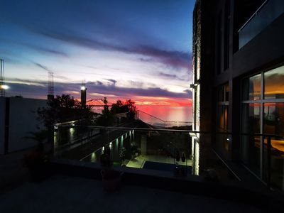 Photo for Modern Boutiquehotel/villa with ocean and swimmingpool view. Whole villa