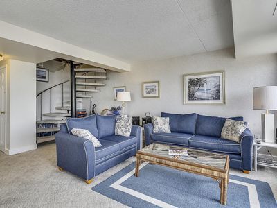 Photo for FREE DAILY ACTIVITIES!!! 2 Bedroom/2.5 Baths Penthouse.   Very pretty unit, two levels with wide spiral staircase.