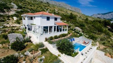 Photo for Holiday house Omiš for 10 - 12 persons with 5 bedrooms - Holiday house