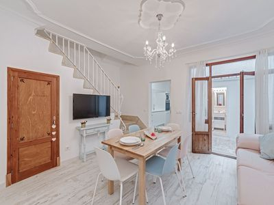 Photo for Beautiful house for 6 people in the old town of Alcudia