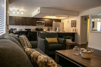 Your modern, clean  and comfortable home away from home!