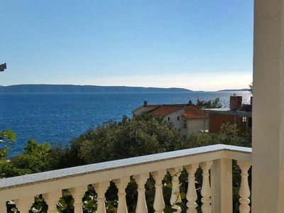 Photo for Two bedroom apartment with terrace and sea view Bušinci (Čiovo)