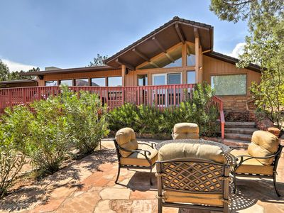Photo for Sedona Home w/ Red Rock Views- 5 Mins to Downtown!