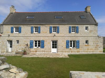 Photo for Large house, facing south, facing the ocean between Audierne and Pointe du raz